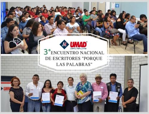 """3er Encuentro Nacional de Escritores """"Porque las Palabras"""""""