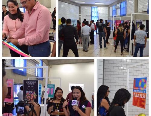 Alumnos de Diseño Gráfico montan exposición de carteles sobre la Diversidad Sexual