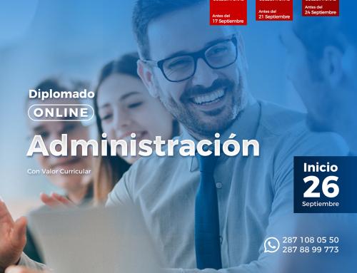 Diplomado Online: Herramientas de Administración