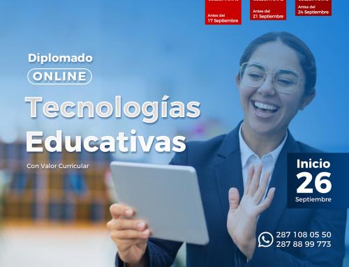 Diplomado Online: Tecnologías Educativas
